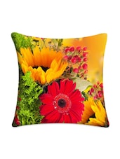 Floral Digital Printed Cushion Cover - Mesleep