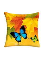 Butterfly Pair Digital Printed Cushion Cover - Mesleep