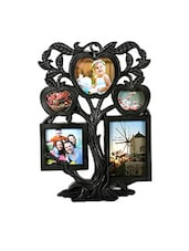 Black Plastic Photo Frame - By