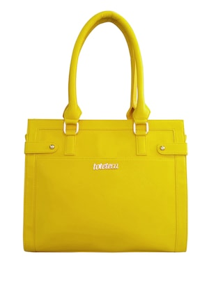 yellow faux leather handbag -  online shopping for handbags