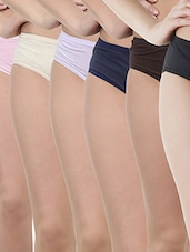 multicolor cotton combos panty -  online shopping for panty