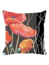 Arty Floral Cushion Cover - Leaf Designs