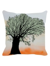 Arty Tree Cushion Cover - Leaf Designs