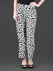 Floral Printed Cotton Trousers - NUN