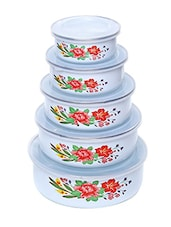 Birdy  5 Pc Stainless Steel Container Set -  online shopping for Containers