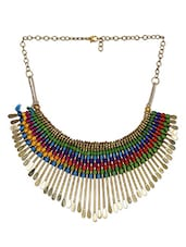 Multicolor Thread Designed Neckpiece -  online shopping for Necklaces