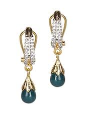 Gold Metallic  Earrings - Crunchy Fashion