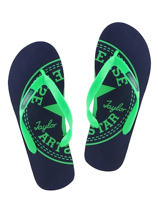 navy rubber slip on flip flops -  online shopping for Flip Flops