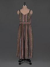 Printed Cotton Maxi Dress - Oxolloxo