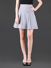 Polyester Box Pleated Skirt - Glam And Luxe