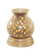 Sand Brown Aroma Oil Electric Diffuser - Brahmz