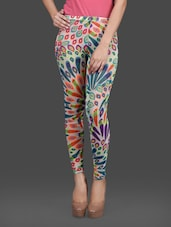 Multi Poly Net Leggings - By