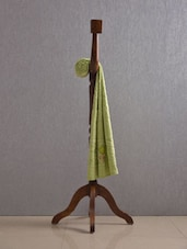 Pista Green Pure Cotton Bath Towel - Firangi