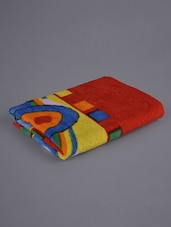 Multicoloured Printed Kids Bath Towel - Firangi
