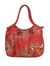 Snake Skin Printed Leatherette Handbag - Baggit