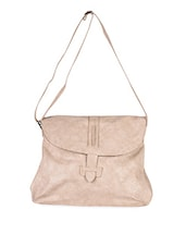 Textured Leatherette Sling Bag - Baggit