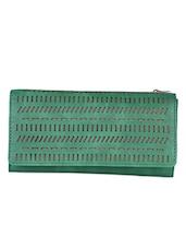 Two Fold Cut Work Pattern Wallet - Baggit