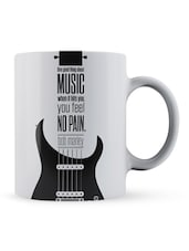 """One Good...Pain"" - Bob Marley Quote Ceramic Mug - Lab No. 4 - The Quotography Department"