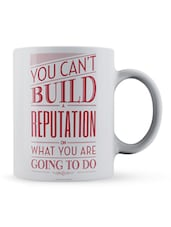 """You Can't... Going To Do"" Quote Ceramic Mug - Lab No. 4 - The Quotography Department"