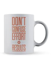"""Don't...With Results"" Quote Ceramic Mug - Lab No. 4 - The Quotography Department"