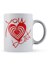 You My Heart Beat Ceramic Mug - Lab No. 4 - The Quotography Department