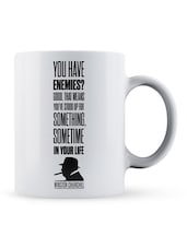 """You Have���your Life""  Quote Ceramic Mug - Lab No. 4 - The Quotography Department"