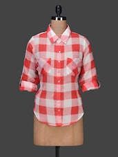 Roll Up Sleeves Checked Shirt - PANIT