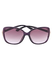 purple oversized sunglass -  online shopping for Sunglasses