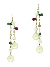 Pearl Dangler Earrings - Blend Fashion Accessories
