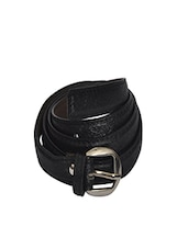 Robb Club Women Black Artificial Leather Belt - By