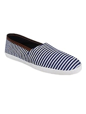 blue canvas casual shoes -  online shopping for Casual Shoes
