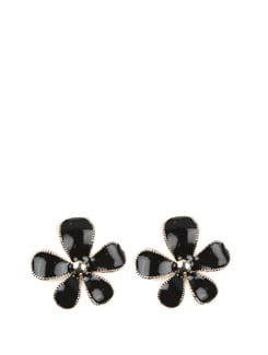 Large Flower Shaped Earrings - Toniq