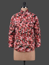 Floral Printed Full Sleeve Shirt - Oxolloxo