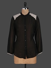 Long Sleeves Sheer Georgette Shirt - I&E