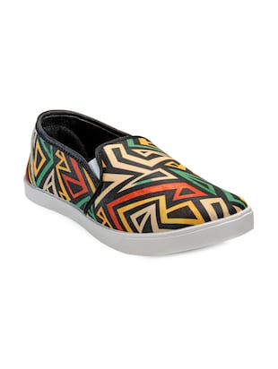 multi colored Canvas Slip on shoe -  online shopping for Shoes
