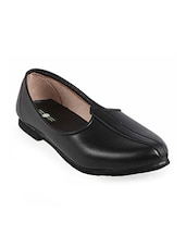 black color, slip on juti -  online shopping for Jutis