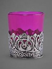 Glass Tea Light Holder - Indian Reverie - 1147582