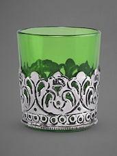 Glass Tea Light Holder - Indian Reverie - 1147584