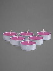 Jasmine Scented Tea Lights (Set Of 6) - Indian Reverie