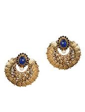 Gold Temple Jewellery Earrings - By