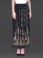 Printed Long Length Skirt - Kiala
