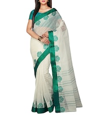 natural cotton tant saree -  online shopping for Sarees