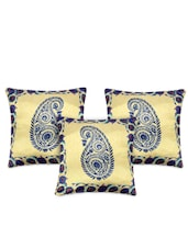 Paisley Print Polyester Cushion Cover - My Room