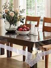 Silver Lace 6 Seater Dining Table Cover -  online shopping for Table Cloths