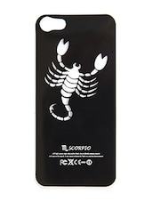 Black Zodiac LED Plastic IPhone 5s Cover - By