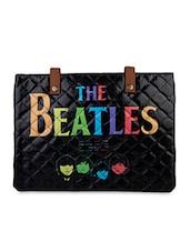 Black Beatles Flex Laptop Sleeve - THE BACKBENCHER