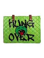 Green Hungover Flex Laptop Sleeve - THE BACKBENCHER