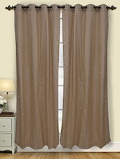 Set Of 2 Polyester Door Curtain - By