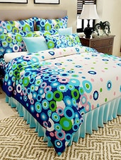 multi colored cotton printed double bedsheet set -  online shopping for bed sheet sets