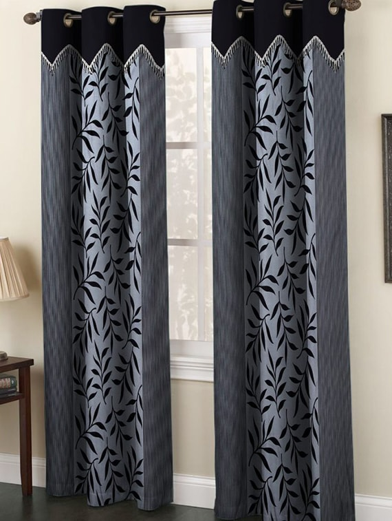 Upto 70% Off On Black Out Solid Curtains